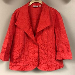 Erin London textured blazer jacket xl 16P